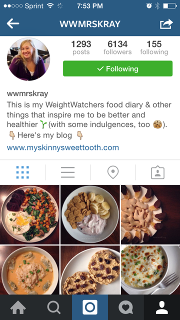 6 Awesome Weight Watchers Instagram Accounts
